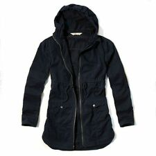 NEW HOLLISTER By Abercrombie women Girl Point Mugu twill parka Jacket Coat M, L