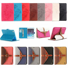 360 Rotating Smart PU Leather Case Cover Stand Buckle  For iPad Mini/2 3 4/Air 2