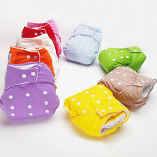 Adjustable Reusable Washable Baby Infant Cloth Nappy Soft Cotton Diaper Cover