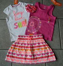 Outfit Gymboree,Bright and Beachy,NWT,tops,skort,hairtie,4 pc.set,sz.5,6,7,8 yrs