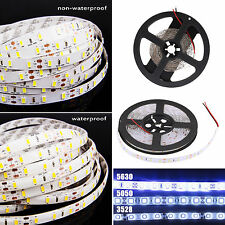 5M DC12V 300 600LEDs 3014 5050 3528 5630 SMD LED Flexible Strip Light Fairy Lamp