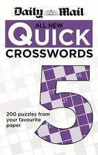 The Daily Mail: All New Quick Crosswords 5 by Daily Mail (Paperback, 2013)