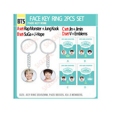 [BTS]防弾少年団 2ND MUSTER OFFICIAL GOODS[FACE KEY RING ] +GIFT PHOTO