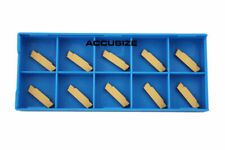 MGMN-2 Double End Carbide Cut-Off Insert, Tin Coated, 10 Pcs/Box, #2403-4022x10