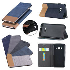 Pouch Wallet Case Cover Card Holder Slim For iPhone 5 5S 6 Plus Flip Leather
