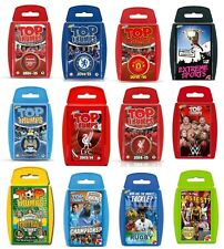 TOP TRUMPS Sport Titles, Travel Toy Card Game, Rugby, Cricket, Football, Sport