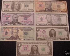 7 - USA USD Novelty Banknotes - Practice Test Notes - Best Wholesale Lot Bills