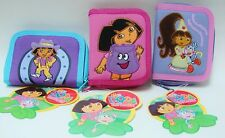 Nickelodeon Dora the Explorer Canvas Cloth Wallet ~ 3 Styles ~ Reduced Price
