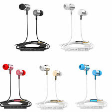 In-Ear Headset Earphone Earbud Control Mic Headphone for Samsung Galaxy iPhone