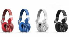 Bluedio Bluetooth Earphone Wireless Earpiece Turbine Stereo Headset FM Radio SD