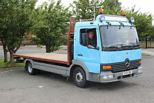 2004 Mercedes Atego 815 7.5 Tonne Flat Bed, 21 Ft Long Body, 6 Speed Manual