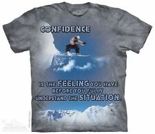 Snowboard Outdoor T-Shirt from The Mountain - Sizes S - 5X