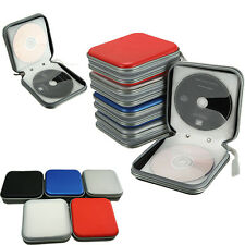 40 Disc CD DVD VCD Wallet Storage Organizer Case Holder Album Bag Hard Box NEW