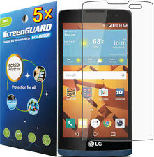 5x Clear Anti-Glare Matte LCD Screen Protector Guard LG Tribute 2 2nd Gen LS665