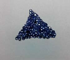 Natural Tanzanite Faceted Cut Round Calibrated Size Top Quality Loose Gemstone