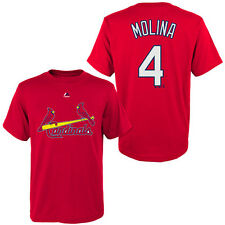 St Louis Cardinals Yadier Molina Children's Youth Jersey T Shirt Size S M L XL