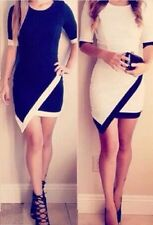 Women Bodycon Evening Party Cocktail Pencil Dress Sexy Mini Short Maxi Dress R35