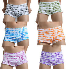 Men's Cotton Summer Casual Loose Shorts Home Short Pants Underwear Boxers Trunks