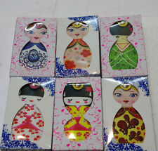 New Design Lovely Russian&Japanese Doll Shape Manicure Kit Nail Clipper File Set