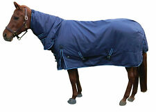 New! Waterproof Turnout Horse Blanket W/Neck Cover 80""