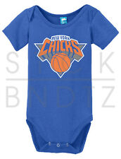 NEW YORK CHICKS BASKETBALL USA CUTE BABY T-SHIRT FUNNY CUTE SHOWER GIFT ONESIE