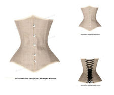 14 Full Steel Boned Heavy Lacing Woven Underbust Shaper Corset #8576B(WF)