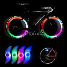 Multi-Color Bike Bicycle Cycling Wheel Tire Tyre LED Spoke Safety Light Lamp ~~