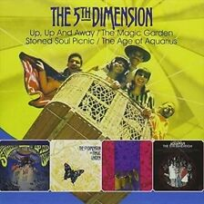 Up Up & Away / Magic Garden / Stoned Soul Picnic - 5th Dimension New & Sealed CD