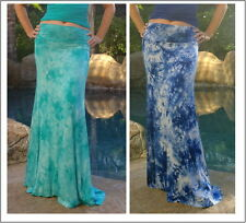 Maya Antonia -TALL SIZE -  Tie-dye Slimming Maxi Skirt - Floor Length