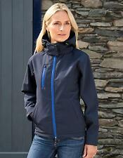 Ladies Core Lite Hooded Soft Shell Jacket | Result Core