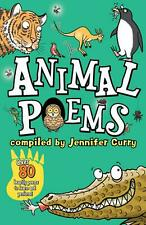 Animal Poems by Jennifer Curry Paperback Book