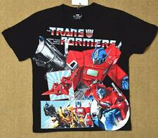 2-10 Transformers Black  Boy Toddler T-shirt Tee Top Shirt SUMMER KIDS OUTFIT