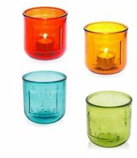 Recycled glass tea light candle holder.  CASA UNO. Shop.inspire.change