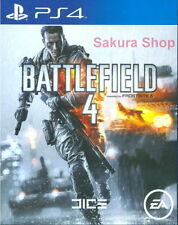 New Sony PS4 Games Battlefield 4 HK Version English Voice and Subtitle