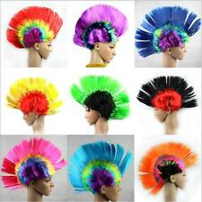 Punk Fluffy Hair Full Wig Hair Piece Cocktail Halloween Party Cosplay Costume FW