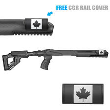 Fab Defense Stock Kit For Ruger 10/22 w/ Canada Rail Cover - UAS R10/22 Cnda