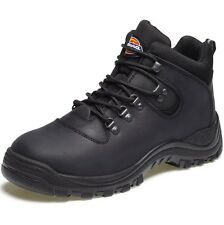 MENS DICKIES FURY LACE UP BLACK WORK SAFETY BOOTS WITH STEEL TOE CAP FA23380A