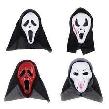 Scary Halloween Props Ghost Devil Masks Horror Mask Scream Party Skull Costumes