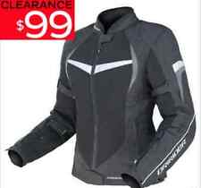 DRIRIDER LADIES AIR RIDE 2 MOTORCYCLE JACKET NEW rrp $199 blk/grey Female Womens