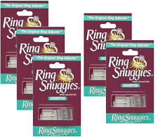 Ring Snuggies USA Ring Adjusters Sizers Jewelry 6 Pack ORIGINAL NON TOXIC RM2148