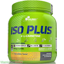OLIMP ISO PLUS® SPORT ISOTONIC DRINK CARBOHYDRATE VIT with L-CARNITINE FREE P&P