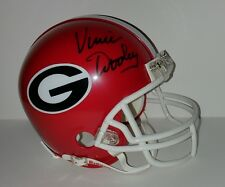 Vince Dooley Georgia Bulldogs Autographed Hand Signed Mini Helmet