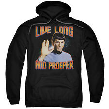 "Star Trek TOS ""Live Long And Prosper"" Hoodie, Crewneck or Long Sleeve T-Shirt"