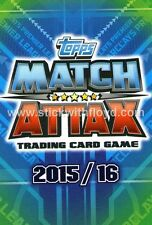 Topps Match Attax 2015/2016 15/16. Cards #325 - #360 Base Players & Club Badges