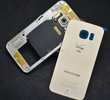 Middle Frame Chassis+Battery Cover for Samsung Galaxy S6 Edge Verizon G925V