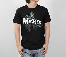 THE MISFITS RETRO VINTAGE HORROR METAL PUNK ROCK MUSIC BAND MEN TEE T-SHIRT S-XL