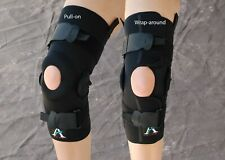 ALPS Knee Brace Wrap-around Version With Hinge All Sizes NEW # KBHW