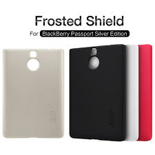 HOT NILLKIN Frosted Matte Back Cover Case For BlackBerry Passport Silver Edition