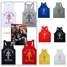 Sleeveless Men Gym Muscle Shirt T-shirt Tank Top Bodybuilding Sport Fitness Vest