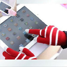 1Pair Winter Men Women Touch Screen Glove Texting Capacitive Smartphone Knit